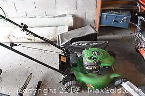 Gas Lawn Mower C