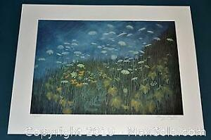 Kemp Kiefer Queens Lace and Wild Grapevines limited edition print, s/n