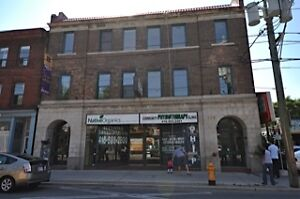 RETAIL FOR LEASE ON BUSY STREET WITH A 96 WALKING SCORE!