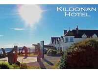 Bar Staff Positions at the Kildonan Hotel Isle of Arran