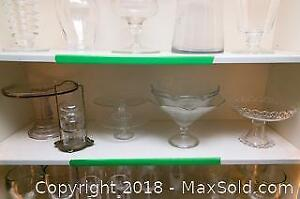 Glass Cake Stands and more A