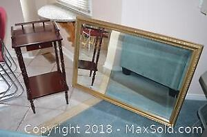 Mirror And Table B