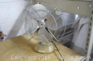 Retro Metal Table Fan -A