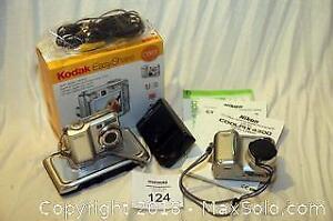 Two digital cameras