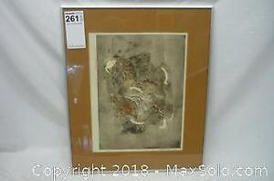 Signed Limited Edition Mid-Century Style Print Karen Pando - A