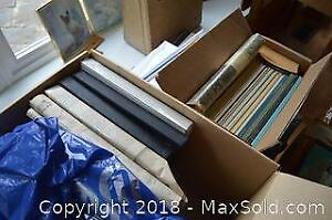 Box Of Assorted Frames- A