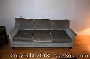 Upholstered Down Filled Sofa C