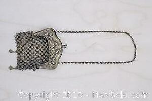 Antique Metal Mesh Coin Purse