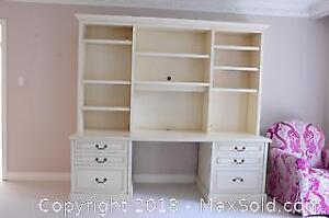 Combo Desk And Wall Unit A