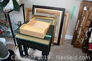 Book Shaped Nesting Tables and Frames B