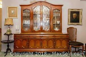 Large Cherrywood Dining Buffet