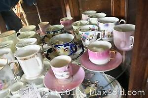 Antique Cups And Saucers A