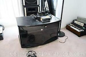 Television Stand And Floor Lamp - B