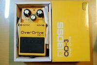 Like New BOSS OD-3 Overdrive Guitar Pedal