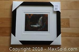 Group of Seven Tom Thomson WOODLAND WATERFALL newly framed with COA