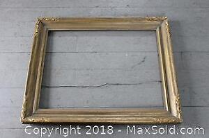 Large Carved Gallery Picture Frame
