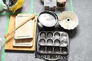 Baking Pans and Housewares A