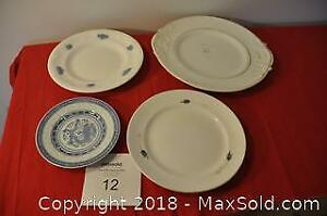 Variety of plates