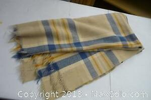 Burberry Style Woven Blanket -A