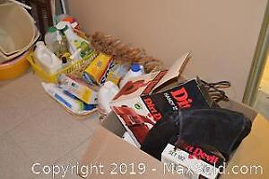 Assortment of Cleaning Supplies B
