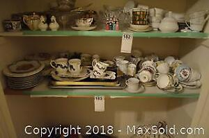 Tea Cups and Saucers And China A