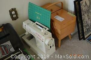 Singer Sewing Machine And More B