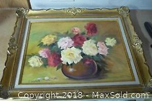 Vintage Oil Painting Signed Urquhart - A