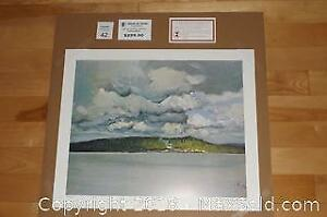 Group of Seven J E H MacDonald SAW MILL 1912 unframed print with COA
