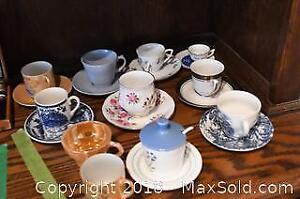 Mini Cups & Saucers. A