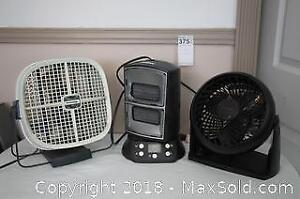 Two Fans and a Heater - B