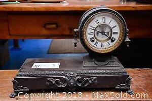 Antique Clock- B