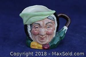 """Royal Doulton Character Mug - """"Sairey Gamp"""""""