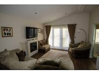 Stunning 2 bedroomed Oakgrove Lodge in beautiful Scottish Borders town of Peebles