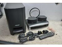 Bose 321 Home theatre with stands