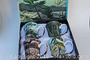New in Box, Set of McIntosh Group of Seven Mugs