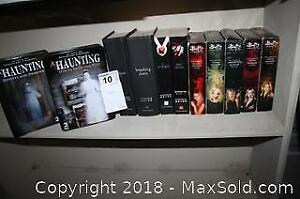Twilight Book Collection and Paranormal DVDs - A