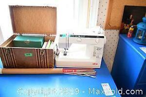 Electric Sewing Machine - A