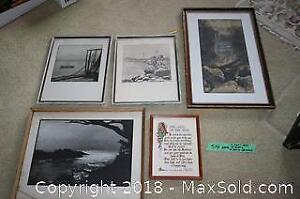 Various Sizes of Framed Artwork