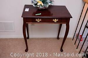 Wooden End Table B