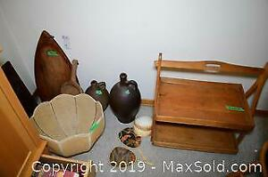 Antique Jugs and Boards A