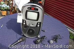 Karaoke Machine And Mics - A