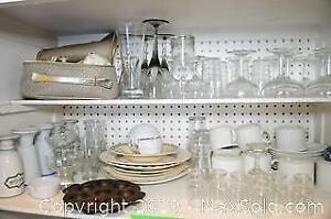Glassware And Bavarian China - A