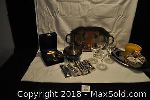 Silver plate and more.