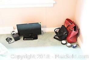 """18"""" RCA Television, Electronics And Bags B"""