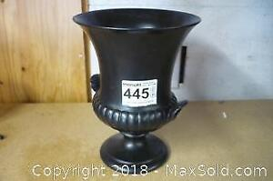 Wedgwood Black Jardiniere/Urn (Repaired) - A