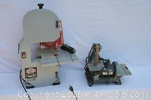 Sander and Band saw - A