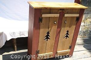 Pine Cabinet - A