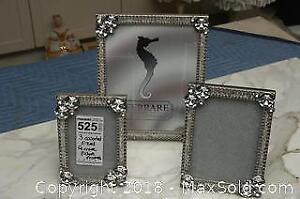 3 Assorted Sized Ferrare Picture Frames A