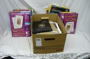 Lot of Printer and Photo Paper - B