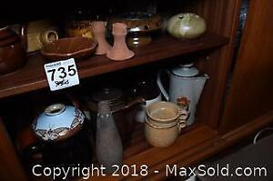 Vases And Coffee Pots A